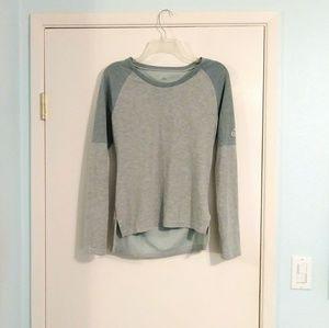 Adidas Sea Green Sweatshirt with Side Slits